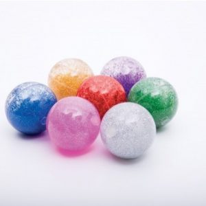 Rainbow Glitter Balls Set