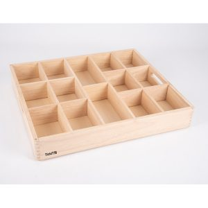 Wooden Sorting Tray - 14 Way