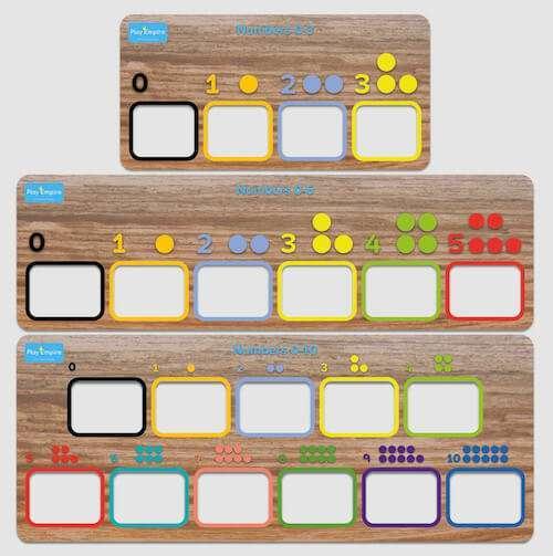 Number Boards Bulk Pack
