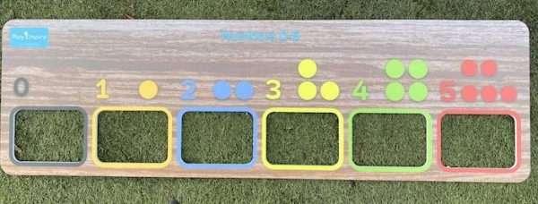 Number Board 0-5