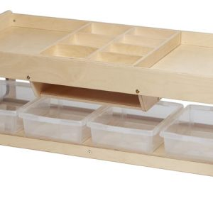 Investigative Play Table (4x Clear Shallow Tubs)