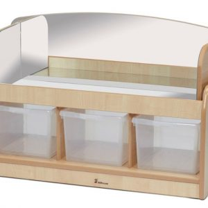 Low Mirror Play Unit with Mirror Surround (Clear Tubs)