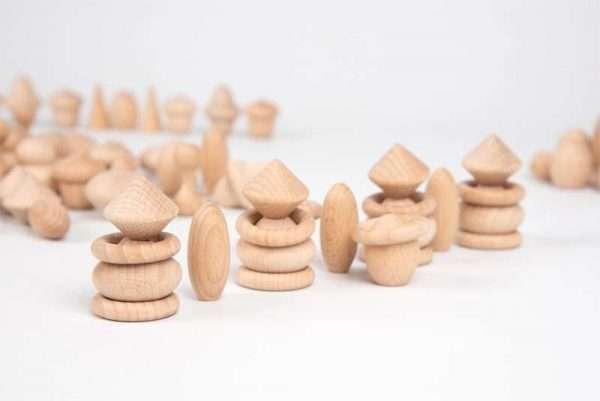 Wooden Treasures Natural Set