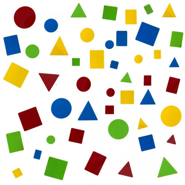 Shape Attribute Set 48 pcs