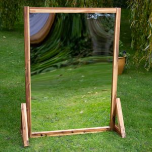 Outdoor mirror panel