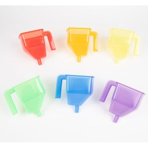 Translucent Colour Funnels