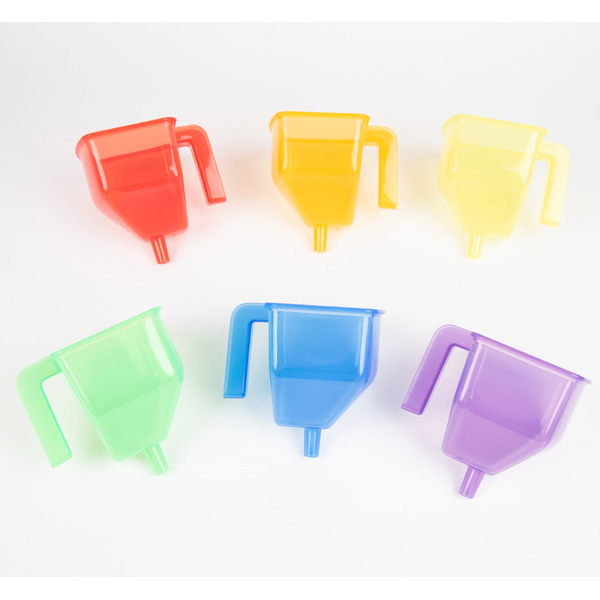 Translucent Colour Funnels