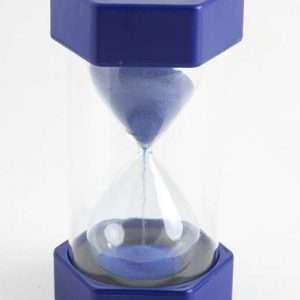 Mega Sand Timer - 5 Minute Blue