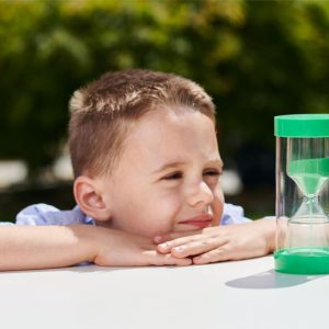 ColourBright Sand Timers 1 min green