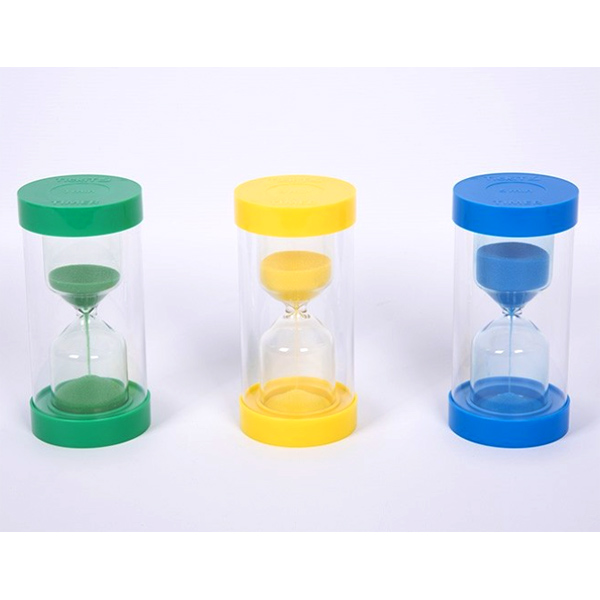 ColourBright Sand Timers Set of 3