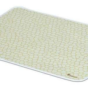Beige Crackle Mat