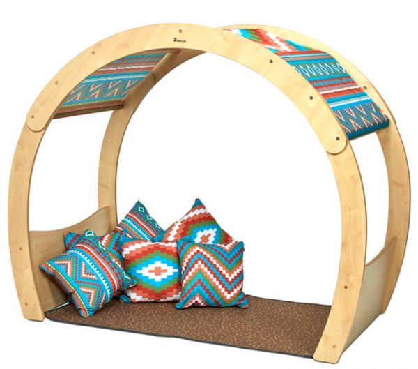 Large Cosy Cove with Aztec Accessory Set