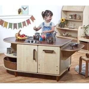 Collaborative Island Kitchen - Pre School