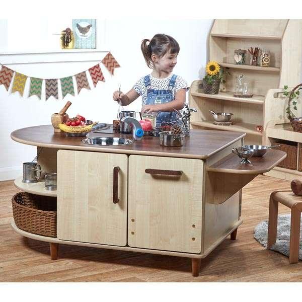 Pre-School Island Kitchen