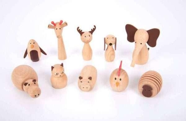 Wooden Animal Friends