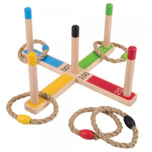Wooden Quoits Game
