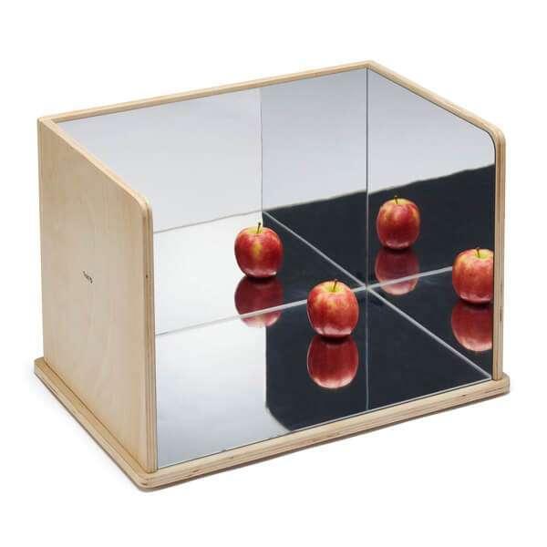 Wooden Exploration Mirror