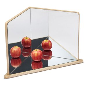 Wooden Four Way Mirror