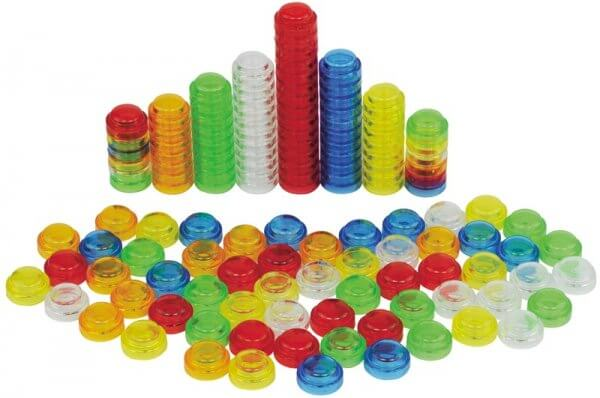 Translucent Stackable Counters