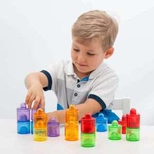 Translucent Colour Pots
