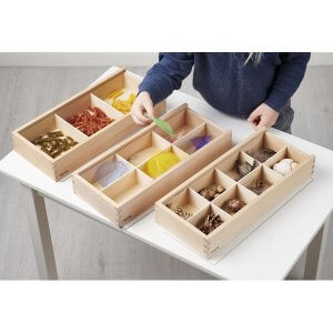Wooden Discovery Boxes