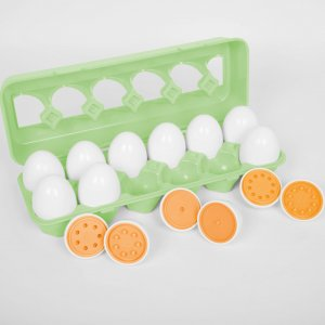 Number Match Eggs
