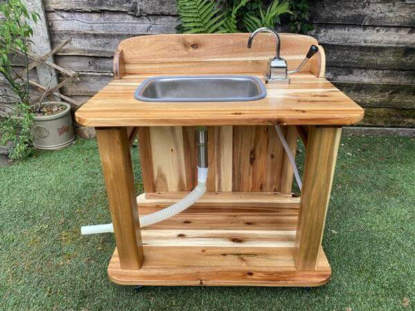 Acacia Sink Unit