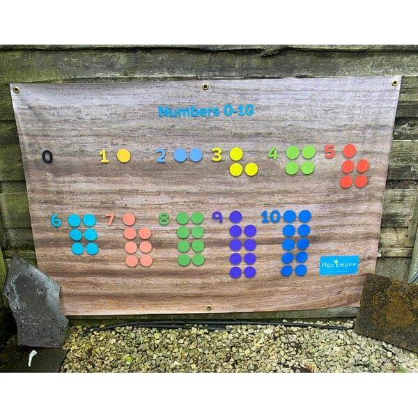 Outdoor Numeracy Poster 0-10