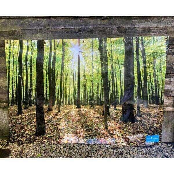 Natural Woodland Backdrop
