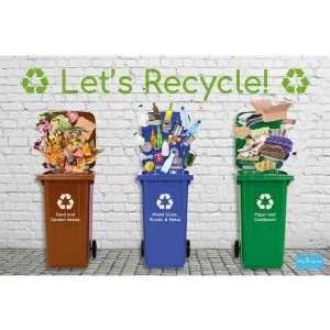 Recycling Backdrop